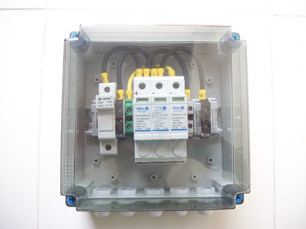 3 IN 3 OUT 600V (15Kw) DCDB