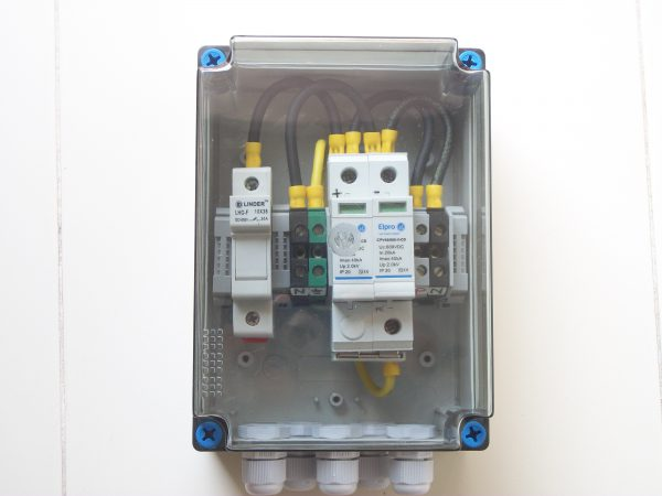 1 IN 1 OUT 600V (1-3kw) DCDB