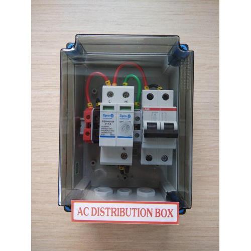 1 PHASE 16A (1-3kw) Solar ACDB