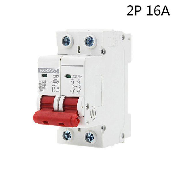 16A 1000V 2P DC MCB