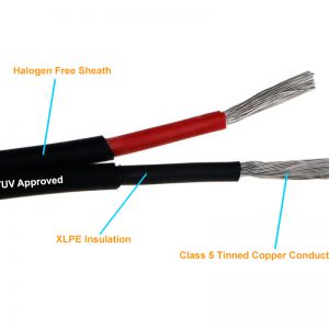 2 Core 4 sqmm Cable
