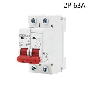 63A 1000V 2P DC MCB